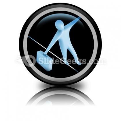 Balance PowerPoint Icon Cc