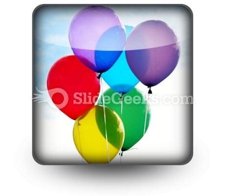 Balloons Icon S