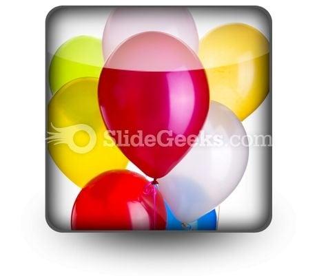 Balloons PowerPoint Icon S