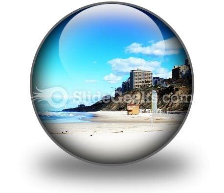 Beach01 PowerPoint Icon C
