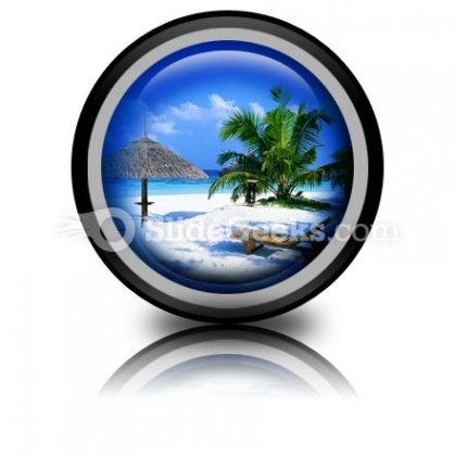 Beach02 PowerPoint Icon Cc