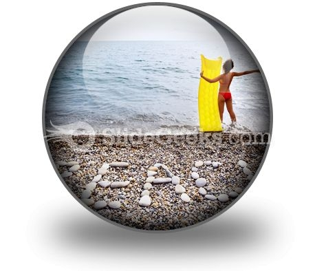 Beach03 PowerPoint Icon C