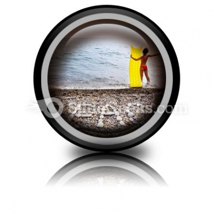 Beach03 PowerPoint Icon Cc