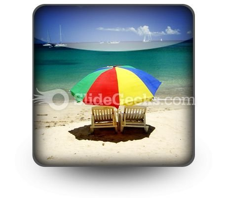 Beach Relax PowerPoint Icon S