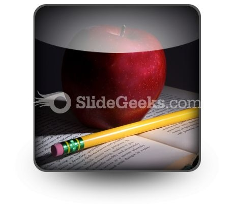 Book Apple PowerPoint Icon S