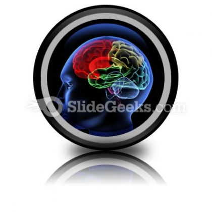 Brain PowerPoint Icon Cc