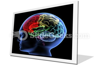 Brain PowerPoint Icon F