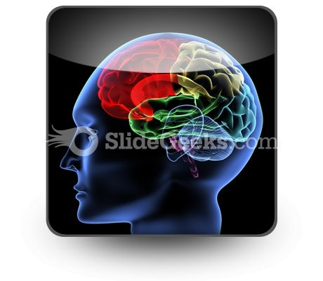 Brain PowerPoint Icon S