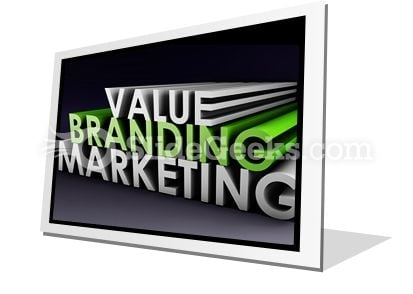 Branding And Marketing PowerPoint Icon F