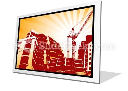 Building Construction PowerPoint Icon F