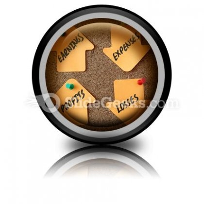 Business Finance Money PowerPoint Icon Cc