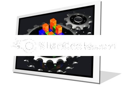 Business Graph Adjust PowerPoint Icon F