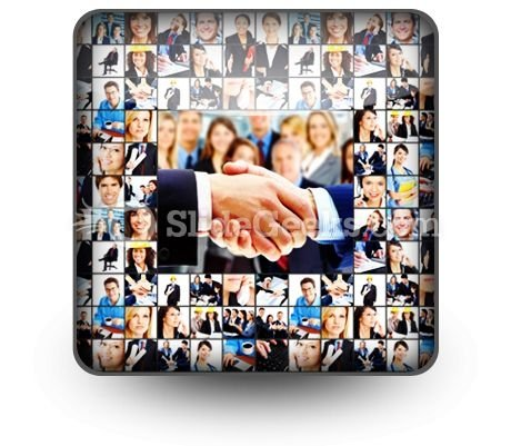 Business People PowerPoint Icon S