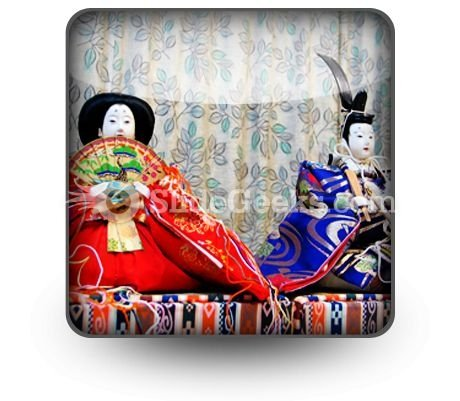Chinese Dolls PowerPoint Icon S