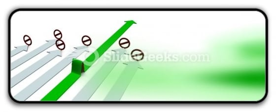 Choice Of Direction Movement PowerPoint Icon R