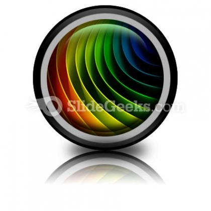 Colorful Background Ppt Icon For Ppt Templates And Slides Cc
