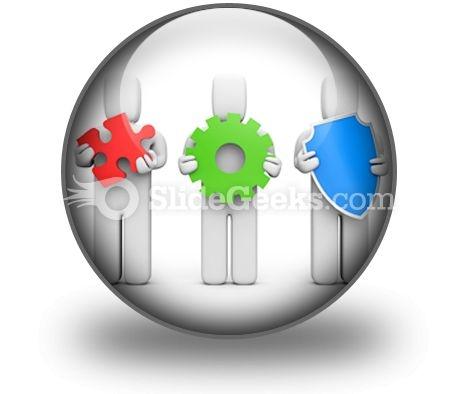 Complex Service Idea Development PowerPoint Icon C