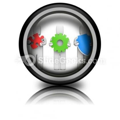 Complex Service Idea Development PowerPoint Icon Cc