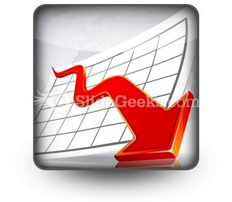 Crisis Graph Ppt Icon For Ppt Templates And Slides S