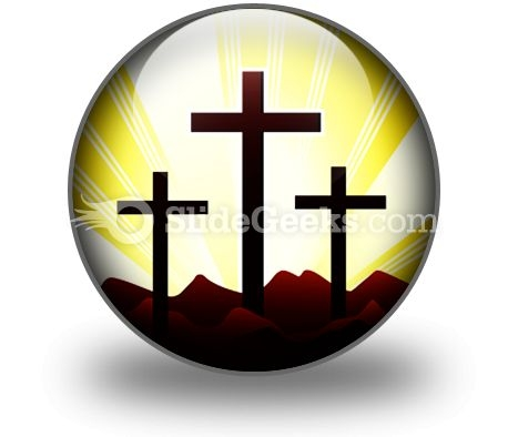 Cross Religion Ppt Icon For Ppt Templates And Slides C
