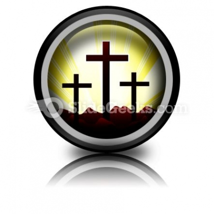 Cross Religion Ppt Icon For Ppt Templates And Slides Cc