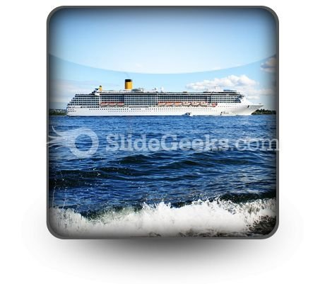 Cruise Ship PowerPoint Icon S