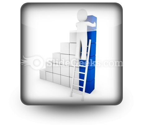 cube_ladder_blue_powerpoint_icon_s