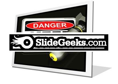 Dangerous Area PowerPoint Icon F
