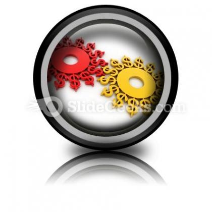Digital Illustration Dollar PowerPoint Icon Cc