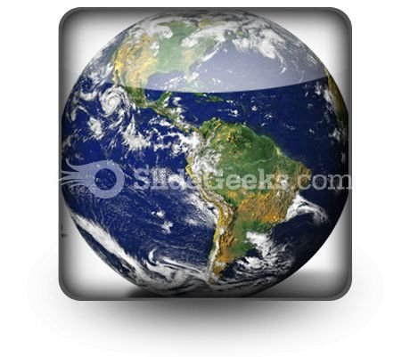 Globe PowerPoint Icon