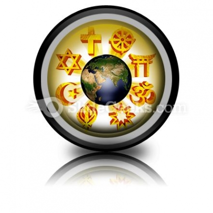 Earth Religious Symbols PowerPoint Icon Cc