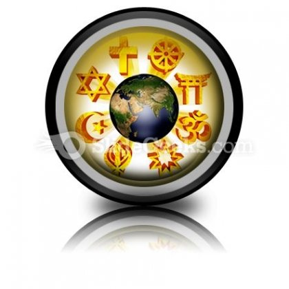 Earth Religious Symbols PowerPoint Icon Cc