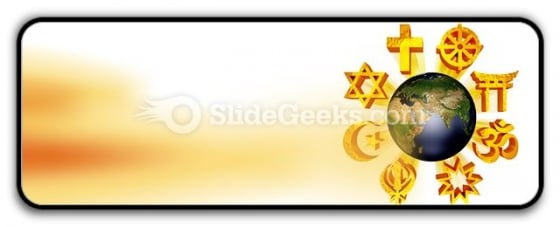 Earth Religious Symbols PowerPoint Icon R