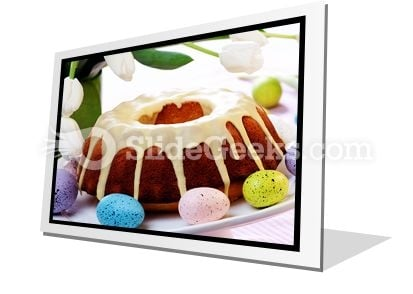 Easter Cake PowerPoint Icon F