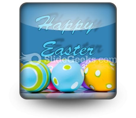 Easter Eggs PowerPoint Icon S