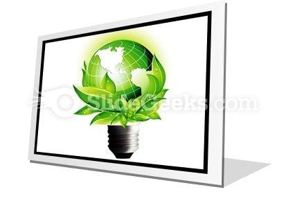Eco Concept PowerPoint Icon F