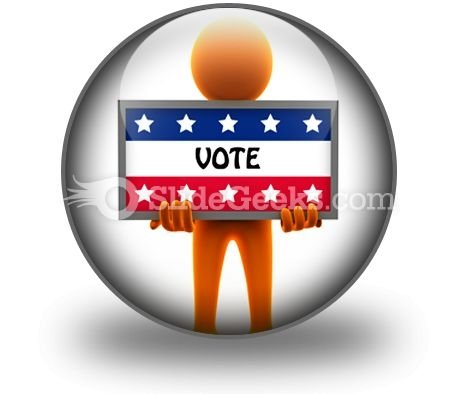 Election Time PowerPoint Icon C