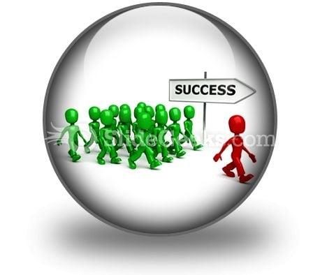 Find Success PowerPoint Icon C