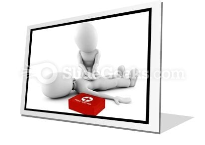 First Aid PowerPoint Icon F