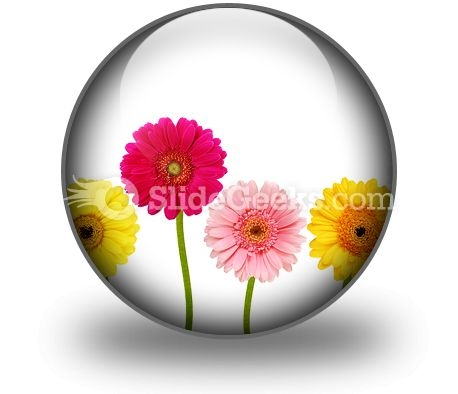 Flowers Nature PowerPoint Icon C