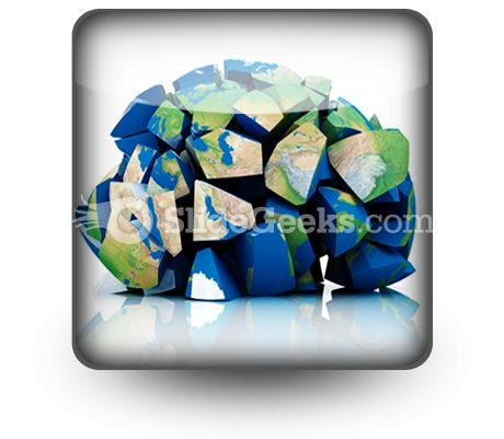 Global Destruction PowerPoint Icon S