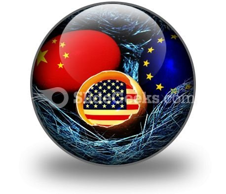 Global Economy PowerPoint Icon C