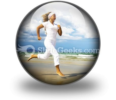 Healthy Life PowerPoint Icon C