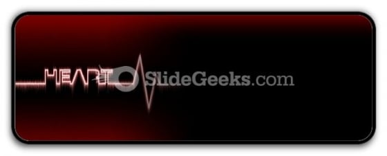 Heart Beat PowerPoint Icon R