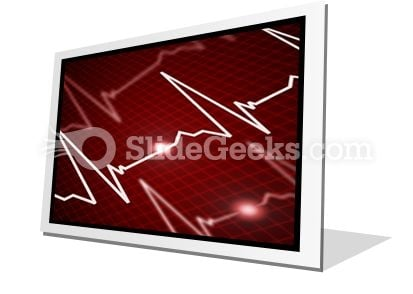 Heart Rate PowerPoint Icon F