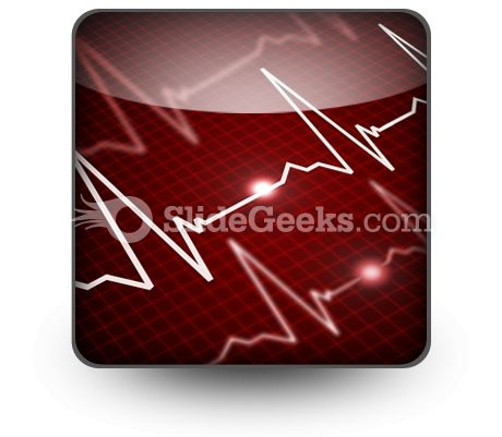 Heart Rate PowerPoint Icon S