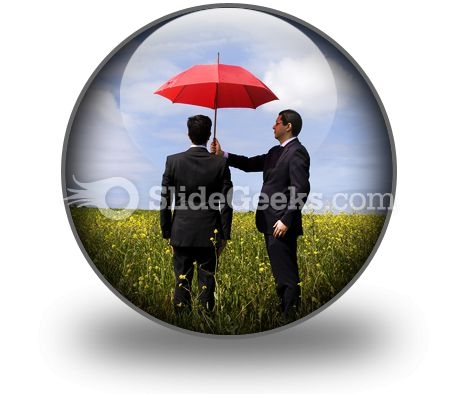 Insurance Agent PowerPoint Icon C