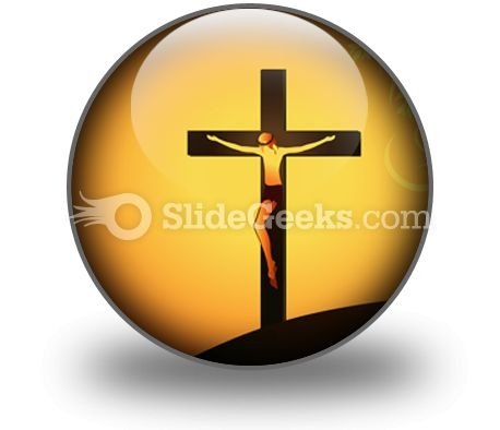 Jesus Christ PowerPoint Icon C