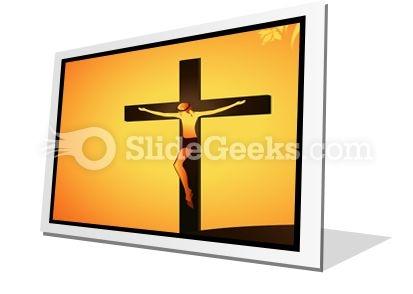 Jesus Christ PowerPoint Icon F