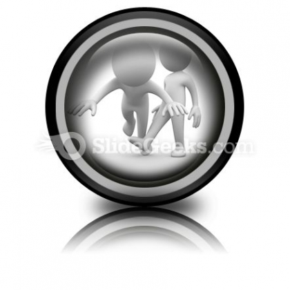 Make Him Fall Down Ppt Icon For Ppt Templates And Slides Cc